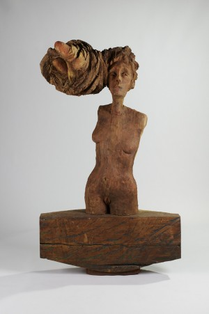Lady with Hair, 1989